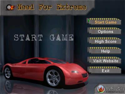 Capture d'écran Need For Extreme