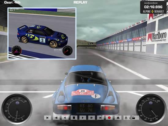 Capture d'écran Racer Mac