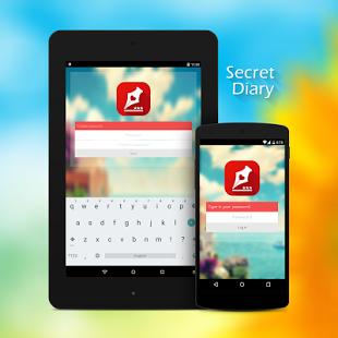 Capture d'écran Secret diary with password