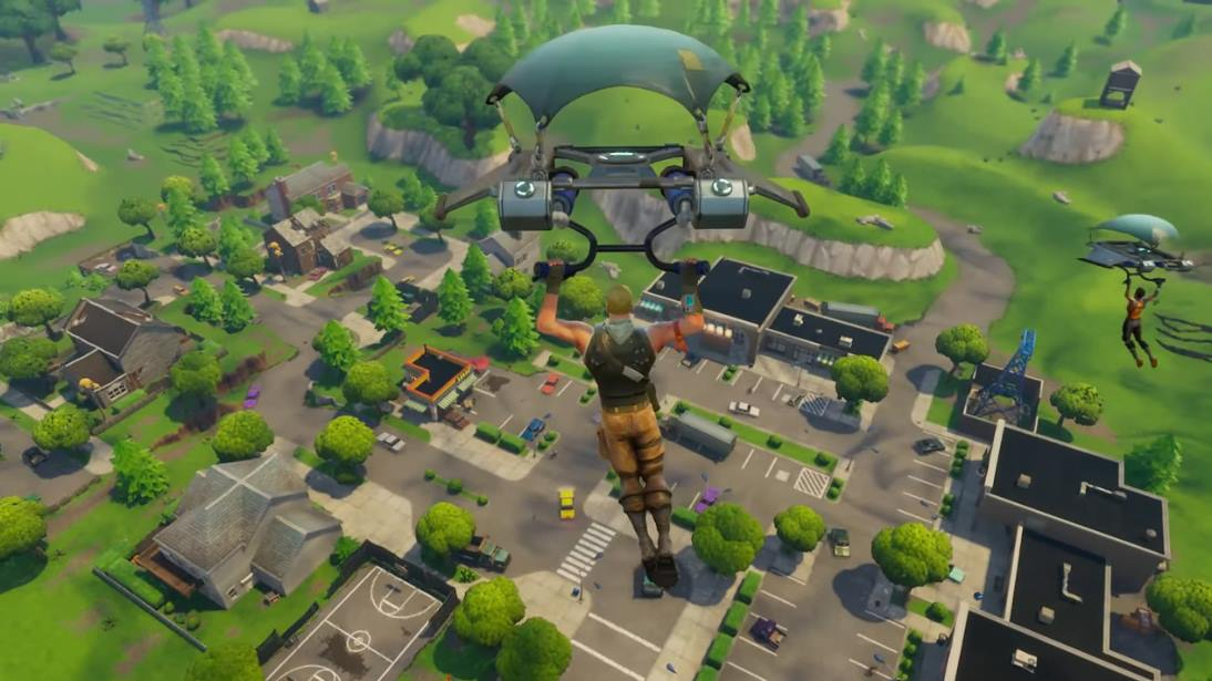 Capture d'écran Fortnite: Battle Royale