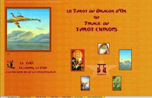 Capture d'écran Astro-Lame  Le Tarot du Dragon d'or