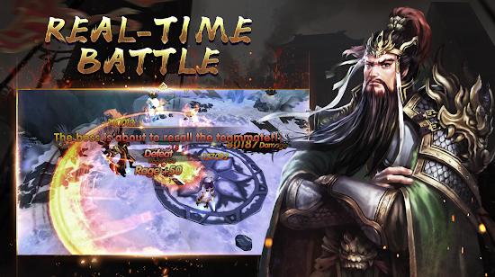 Capture d'écran Three Kingdoms : Heroes of Legends Android