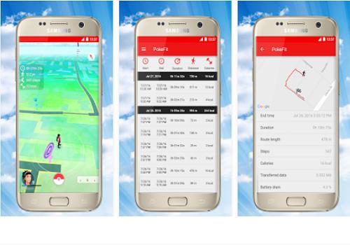 Capture d'écran PokeFit for Pokemon Go Android