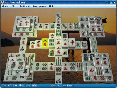 Capture d'écran My Free Mahjong