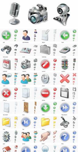 Capture d'écran 50.000 Vista Icons – Full Vista Bundle