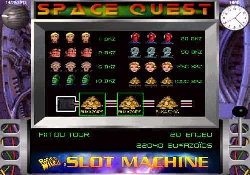 Capture d'écran Roger Wilco's Slot Machine