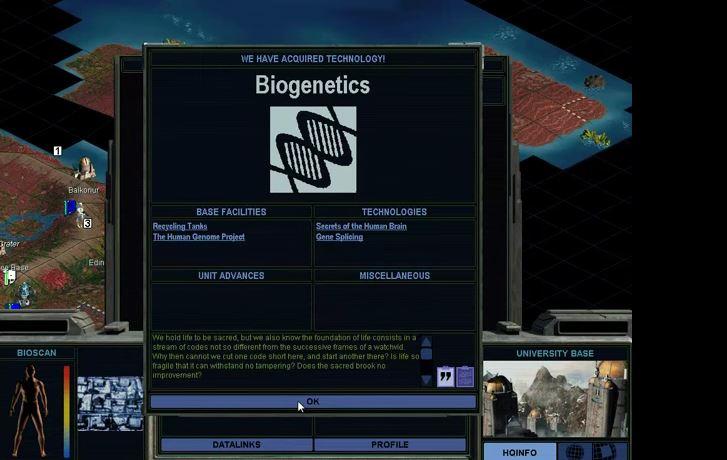 Capture d'écran Alpha Centauri
