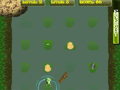 Capture d'écran Merry Frog