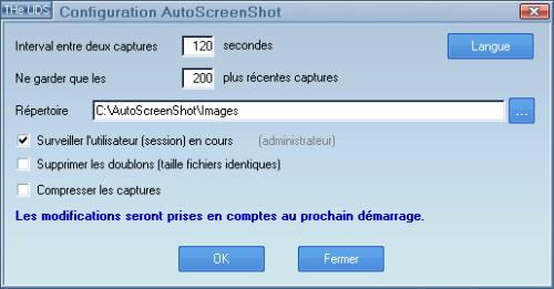 Capture d'écran AutoScreenShot