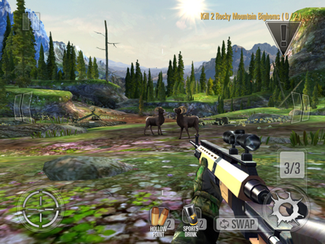 Capture d'écran Deer Hunter Classic iOS