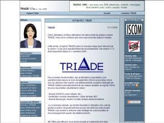 Capture d'écran Triade