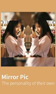 Capture d'écran Mirror Pic- Mirror Image Photo