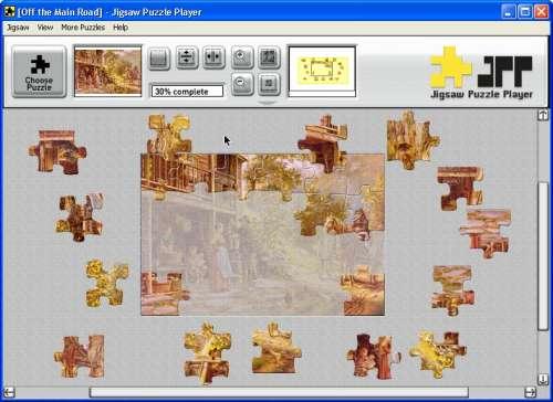 Capture d'écran Jigsaw Puzzle Player