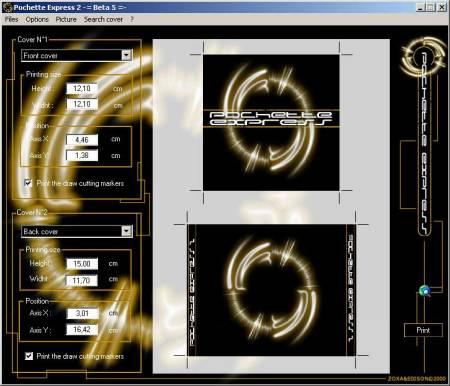 Capture d'écran Pochette Express 2