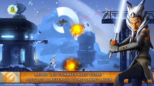 Capture d'écran Star Wars Rebels iOS