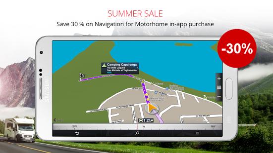 Capture d'écran Sygic Truck GPS Navigation
