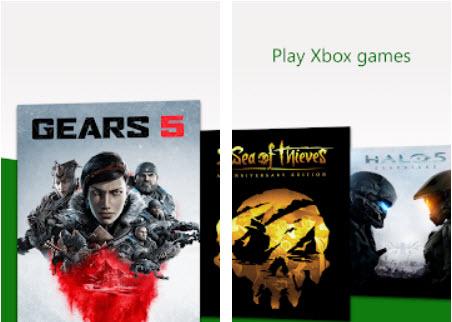 Capture d'écran Xbox Game Streaming