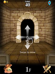 Capture d'écran Dungeon Flicker