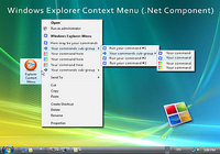 Windows Explorer Shell Context Menu Pro