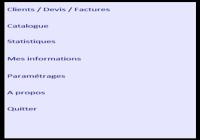DEVIS - Devis et factures
