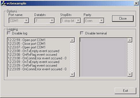 Serial Port ActiveX Control