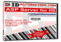 GS1 Databar ASP Barcode for IIS