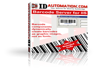 IDAutomation ASP Barcode Server for IIS