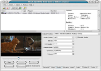 YASA AVI WMV MOV VOB to WMA Converter