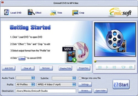Emicsoft DVD en MP4 Convertisseur pour Mac
