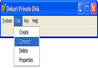 Dekart Private Disk Multifactor