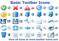 Basic Toolbar Icons