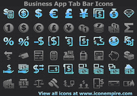 Business App Tab Bar Icons