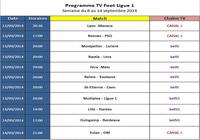 Programme TV Ligue 1