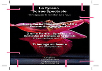 Flyer soirée Nouvel an 2007.