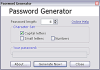 Secure Random Password Generator