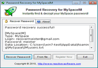 Password Recovery for MySpaceIM