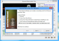 Sound Recorder Professional 1.24