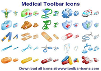 Medical Toolbar Icons