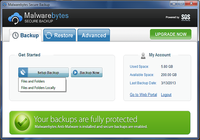 Malwarebytes Secure Backup