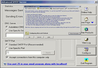 Advanced SMTP Server