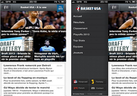 Basket USA iOS