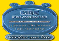 MD5 File Validator