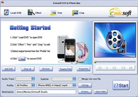 Emicsoft DVD en iPhone Convertisseur pour Mac