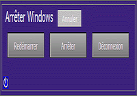 Arret de Windows