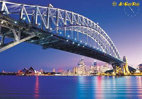 Amazing Sydney Bridge Screensaver
