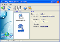 Dial-Up VPN Password Recovery