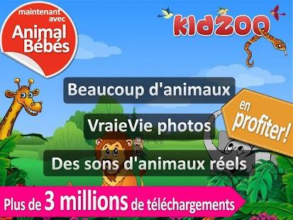 Capture d'écran Cris des animaux pour enfant