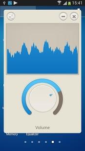 Capture d'écran égaliseur de musique