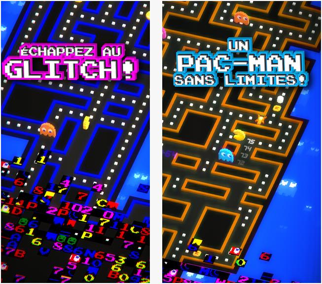 Capture d'écran PAC-MAN 256 Labyrinthe infini iOS