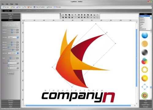 Capture d'écran Studio V5 Logo Maker